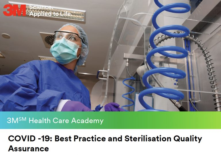 3M Health Care Academy - COVID -19: Best Practice and Sterilisation Quality Assurance